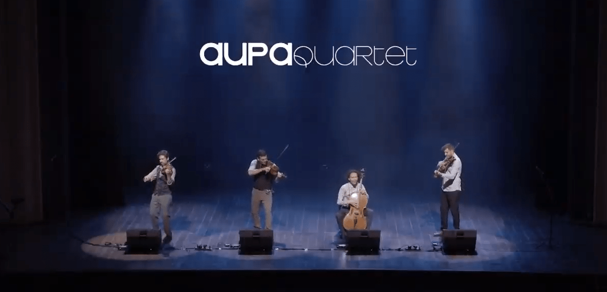 Aupa Quartet Live in Brazil, 2018