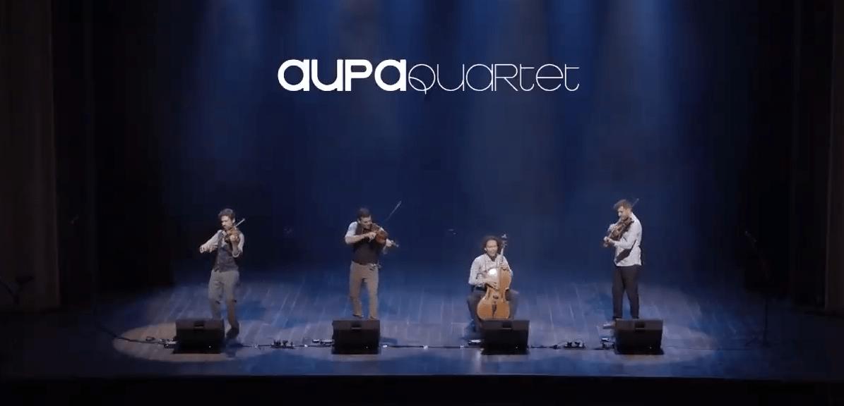 Aupa Quartet Live in Brazil, 2018