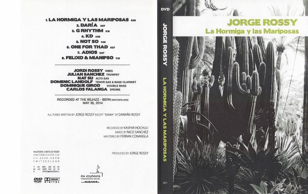 Jorge Rossy La Hormiga y Las Mariposas DVD